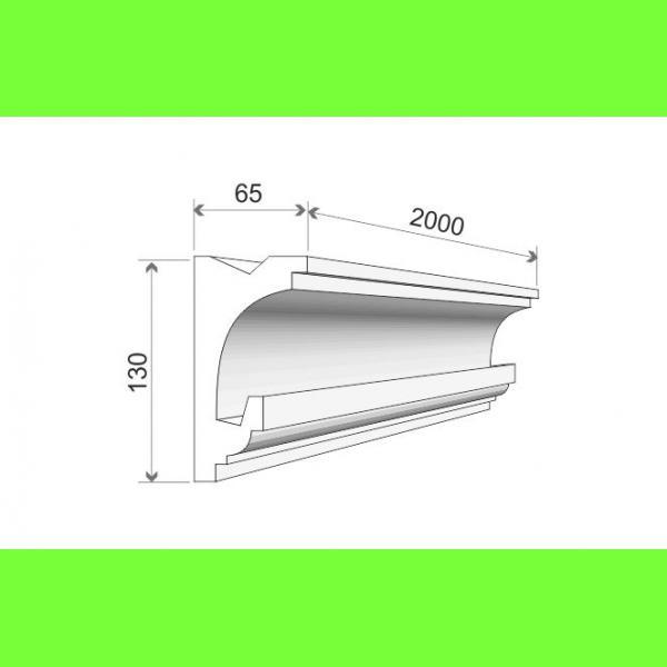 Listwa oświetleniowa LO-24A Wysokość 13 cm