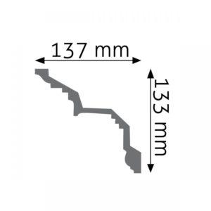 Listwa gzymsowa LGZ07 Wysokość 13,3 cm