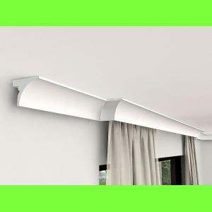 Karnisz sufitowy z maskownicą LKO6 Wysokość 10 cm