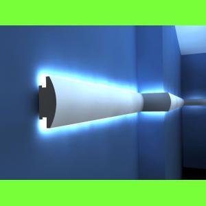 Listwa oświetleniowa ścienna LED LO-27 Wysokość 12 cm