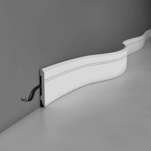 Listwa przypodłogowa SX105/F Wysokość 11 cm