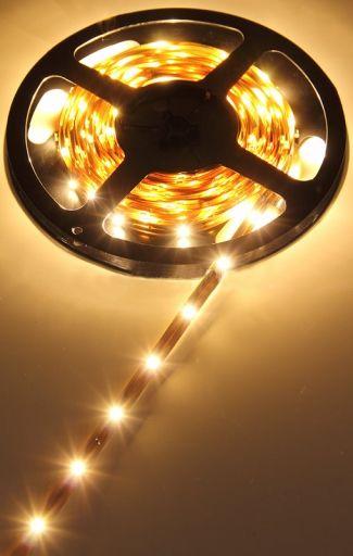 Taśma LED Standardowa (SMD 3528) - rolka 5 metrów,300 LED, samoprzylepna taśma 3M, różne kolory cm