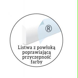 Biała Listwa gzymsowa LGG13 Wysokość 10 cm