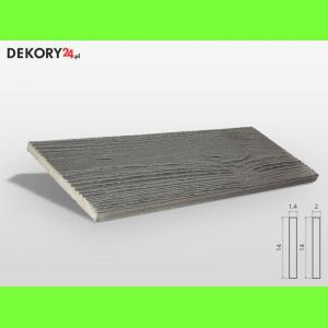 Deska Imitacja Drewna Szary Szerokość: 14 cm