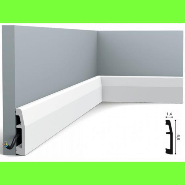 Listwa przypodłogowa SX125 Wysokość 7 cm