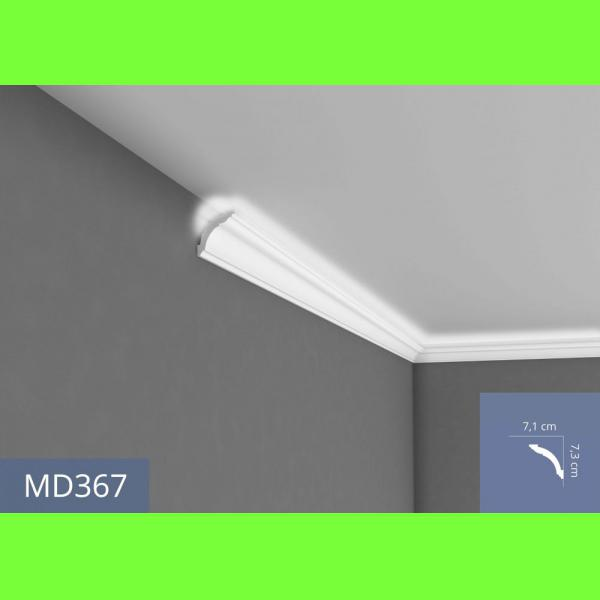 Listwa sufitowa MD367 Wysokość 7.3 cm