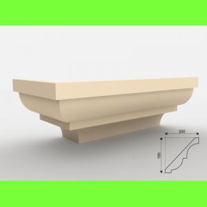 Faseta pod podbitkę FE - 6 Wysokość 19 cm