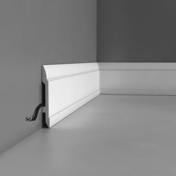 Listwa przypodłogowa SX104 Wysokość 14,8 cm