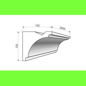 Listwa oświetleniowa LO20 Wysokość 12 cm