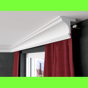 Karnisz sufitowy z maskownicą LKO8 Wysokość 15,5 cm