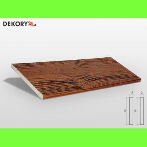 Deska Imitacja Drewna Dąb Złoty Szerokość: 14 cm