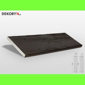 Deska Imitacja Drewna Palisander Ciemny Szerokość: 14 cm