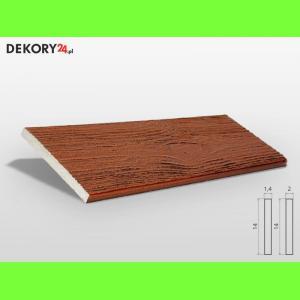 Deska Imitująca Drewno Kasztan Szerokość: 14 cm