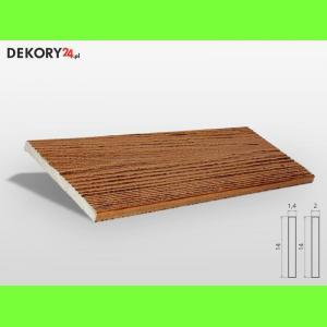 Deska Drewnopodobna Tik Szerokość: 14 cm