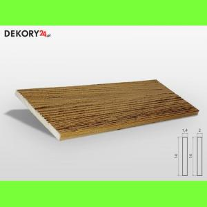 Deska Imitacja Drewna Dąb Szerokość: 14 cm