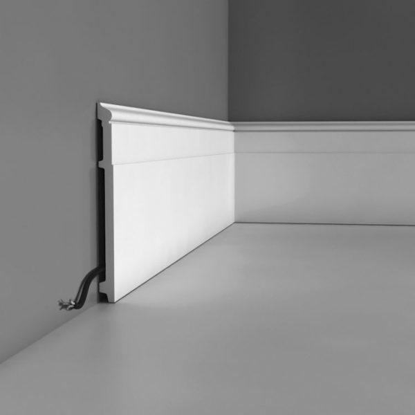 Listwa przypodłogowa SX156 Wysokość 20 cm
