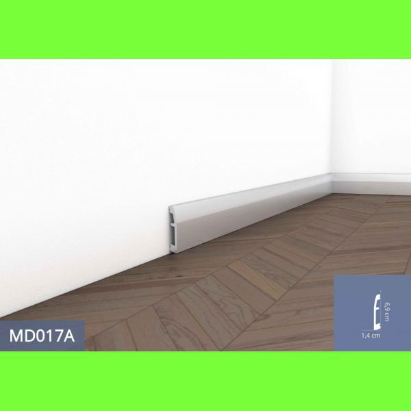 Listwa przypodłogowa MD017A Wysokość 6,9 cm