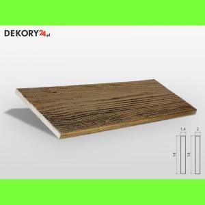 Deska Drewnopodobna Ciemny Dąb Szerokość: 14 cm